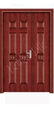 烤漆钢木室内门